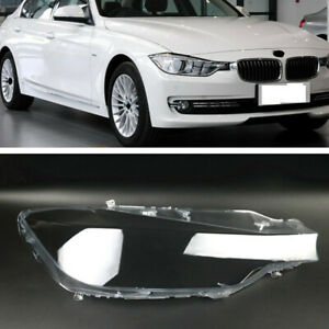 Right Headlamp Clear Lens Auto Shell Cover For BMW 3 Series F30 F35 2013-2015