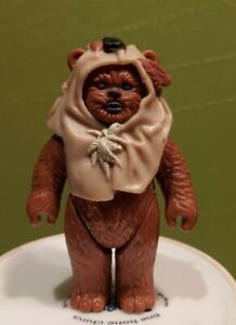 Vintage Star Wars Figure Paploo Last 17 Ewok POTF No weapon