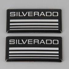 2pcs Cab Decal Emblem Badge Side Roof Pillar Plate Fits 88 98 Chevy Silverado