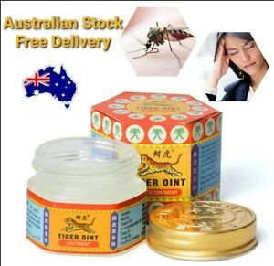 Tiger White Oint Balm 21ml Pain Relief Ointment Soothe FREE POSTAGE