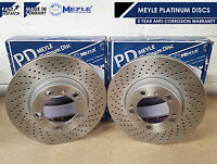 FOR PORSCHE 911 996 997 CARRERA 4 3.4 3.6 FRONT BRAKE DISCS PERFORMANCE DRILLED