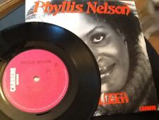 PHYLLIS NELSON . MOVE CLOSER / SOMEWHERE IN THE CITY . 1984 . U.K. N0.1