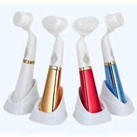 1| Nettoyant Visage ultrason-Peau-Soin-Nettoyage-Massage-Spa-Beauté-beauté