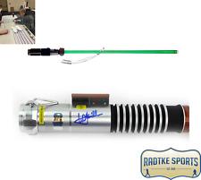 Mark Hamill Autographed/Signed Star Wars Force FX Lightsaber Jedi