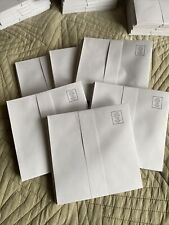 "New White Greeting Card Paper Envelopes 5""x5"" 72 Total In This Lot"