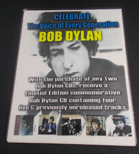 """Dfgh Bob Dylan-Voice-Every Person- store counter mini poster 9x11"""" laminated"""