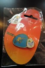 Brazil Rio 2016 Olympic Mascot Vinicius Logo Fencing Pin Badge, New Arrival !