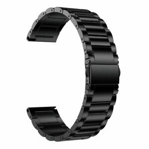 GORPIN Galaxy Watch 3 45mm 46m Band, 22mm Titanium Metal Watch Strap for Samsung
