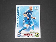PANDER SCHALKE 04 TOPPS MATCH ATTAX PANINI FOOTBALL BUNDESLIGA 2009-2010