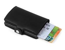 Men's Leather Wallet Credit Card Holder RFID Protector Money Wallet BLACK NR.2