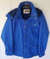 "The North Face Women's Blue Gore-Tex Jacket Coat Size Small USA Hood Zip ""A"""