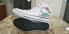 Converse X Hello Kitty Chuck Taylor All Star Ox High Top Shoes Sz 8 NEW 164629F