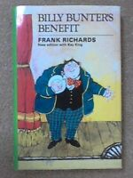 Billy Bunter's Benefit by Richards, Frank Hardback Book The Cheap Fast Free Post