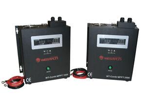 WT-Combi MPPT 12V 1000V 24V 2500VA Wechselrichter Ladegerät Solar Laderegler USV