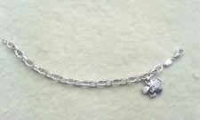 FOSSIL Armband , Sterling Silber 925 Anhänger , Zirkonia , Armkette