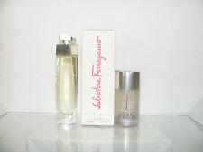 POUR FEMME de FERRAGAMO 2 produkte . Eau Parfum 50spray + Deo 75