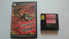 JUEGO Y CAJA SHADOW OF THE BEAST SEGA MEGA DRIVE MEGADRIVE.PAL.