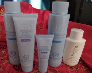 Beauticontrol BC Facial Normal/Dry Face Regimen & Bath Soak (All Travel Size)
