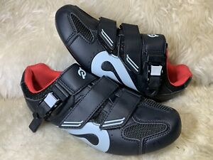 PELOTON Cycling Shoes BLACK Women's SIZES 7.5 38 SUPER CLEAN NO CLEATS