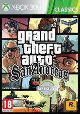 Grand Theft Auto San Andreas PAL ESPAÑA  XBOX 36O  NUEVO GTA XBOX360 CASTELLANO