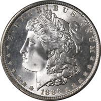1886-P Morgan Silver Dollar PCGS MS67 Blazing White Gem Strong Strike