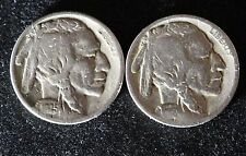 1925-S & 1918 Buffalo Nickels - (A-279)