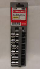 "Craftsman 934448 6pc Hext Bit Socket Set Metric 3/8"" Drive Size 4-8 & 10mm  NEW"