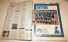Guerin sportivo  N. 9 1979 con poster story Inter