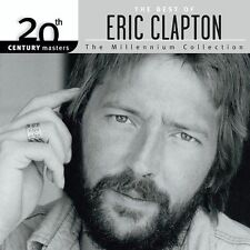 20th Century Masters The Millennium Collection The Best of Eric Clapton Audio CD