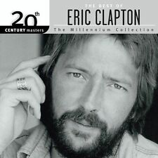 THE BEST OF ERIC CLAPTON 20th CENTURY MASTERS -THE MILLENNIUM COLLECTION 2000 CD