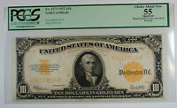 1922 $10 Ten Dollar Gold Certificate PCGS Choice 55 Apparent Fr. 1173