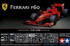 Tamiya 20059 1/20 Model Kit Ferrari F60 Formula One Massa/Raikkonen w/PE Parts