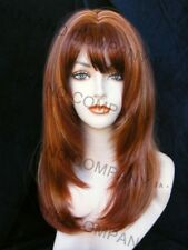 FACE FRAME WIG RED AUBURN MIX WASR R147