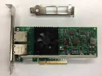 INTEL/DELL X540-T2 OEM CONVERGED DUAL PORT ETHERNET NETWORK ADAPTER 3DFV8