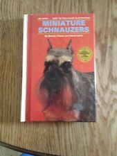 Book Miniature Schnauzers 160 pages over 125 color illustrations