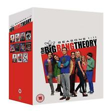 "THE BIG BANG THEORY COMPLETE SEASON 1-11 DVD BOX SET 34 DISC R4 ""NEW&SEALED"""
