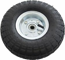 "10 Inch 10"" Pneumatic Trolley Wheel For Cart Barrow Truck Sack Tyre Kart Tire"