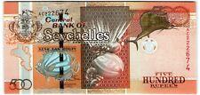 Seychelles 500 Rupees 2011 *UNC* Banknote - k166