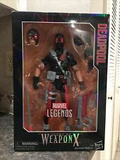 Marvel Legends Series Deadpool Agent of Weapon X Force 12-inch Action Figure NEW