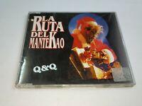 0121- LA RUTA DEL MANTEKAO Q&Q SINGLE CD/ DISCO ESTADO BUENO