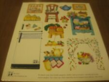 Vintage 2000 Mary Engelbreit Paper Dollhouse Access. Magnetic 3 of 3 Different
