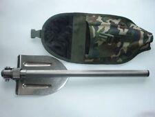 Folding Titanium Special Forces Shovel with Sheath, Titanium Handle.