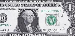 "Wow Star note 2013 $1 DOLLAR BILL ( New York ) Block ""DC"" SCARCE, UNCIRCULATED"
