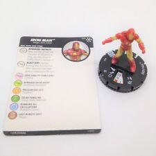 Heroclix Avengers Infinity set Iron Man #001 Common figure w/card!