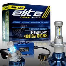 GENSSI H4 9003 LED Headlight Conversion Kit 80W Use CREE 6000K White Light Bulbs