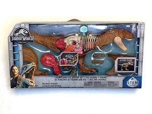 Jurassic World Jurassic Park T-Rex Tyrannosaurus Rex STEM Anatomy Kit NEW 2018