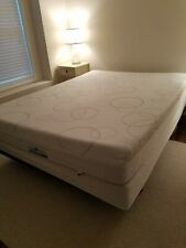 New listing Sleep Number Select Comfort Air Bed Queen Pre-Owned w/ Pump Remote Complete Bed