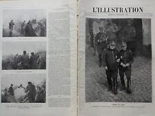 L'ILLUSTRATION 1914 N 3746 JOSEPH JOFFRE et FERDINAND FOCH