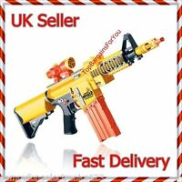 2 x New Call Off Duty Semi-Auto Soft Bullet electric Gun 6+ Nerf Style