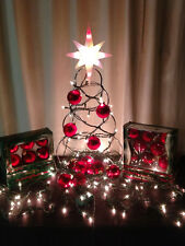 Red Holiday Decorations Christmas Ornaments Balls Lights Adornment Valentines